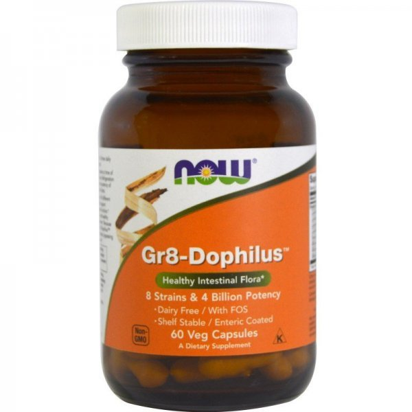 NOW Gr8-Dophilus 60 капсулиNOW2912