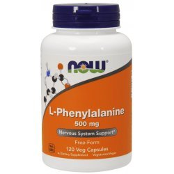 NOW Phenylalanine 120 капсули