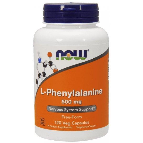 NOW Phenylalanine 120 капсулиNOW132