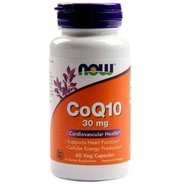 NOW CoQ10 30 mg 60 капсулиNOW3184