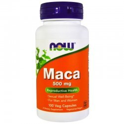 NOW MACA 500 мг 100 капсули