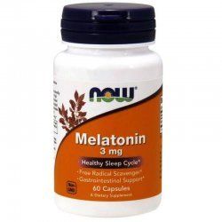 NOW Melatonin 3 мг  60 капсули