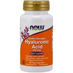 NOW Hyaluronic Acid 100 мг 60 капсули