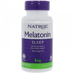 Natrol Melatonin Time Release 3 мг 100 таблетки