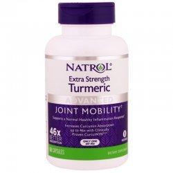 Natrol Turmeric Extra Strength 60 капсули