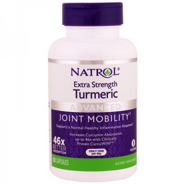 Natrol Turmeric Extra Strength 60 капсулиNAT460