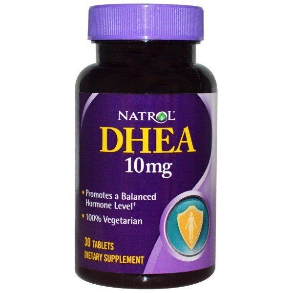 Natrol DHEA 10 мг 30 таблеткиNAT375