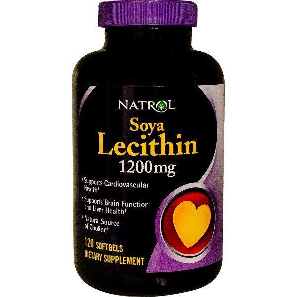 Natrol Soya Lecihtin 1200 мг 120 дражетаNAT453