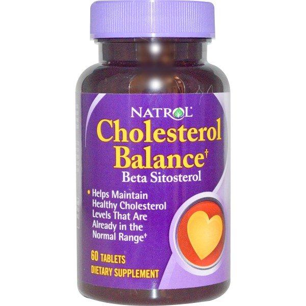 Natrol Cholesterol Balance 60 таблетки NAT362