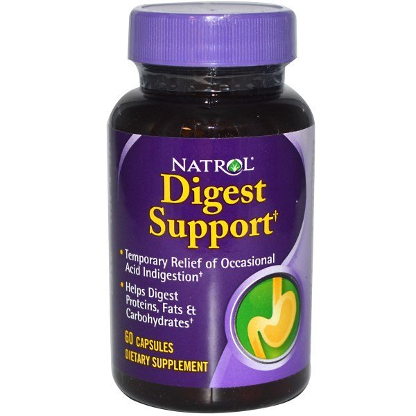 Natrol Digest Support 60 капсулиNAT379