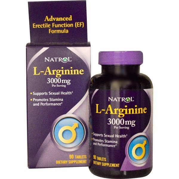 Natrol L-Arginine 3000 мг 90 таблеткиNAT409