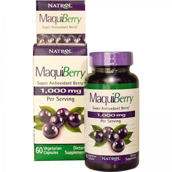 Natrol Maqui Berry 1000 мг 60 капсулиNAT425