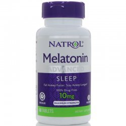 Natrol Advanced Sleep Melatonin 10 мг 60 таблетки
