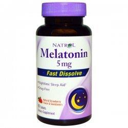 Natrol Melatonin Fast Dissolve 5 мг 90 таблетки