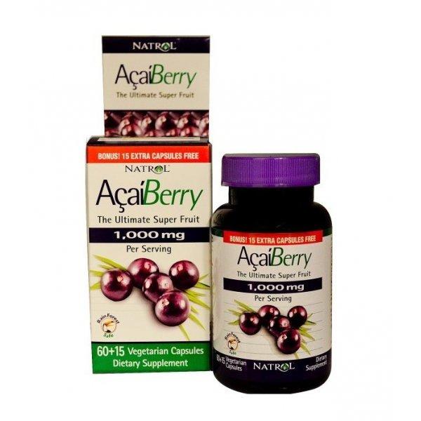 Natrol Acai Berry 75 капсулиNAT341