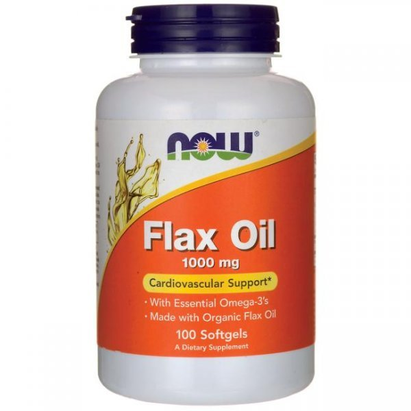 NOW Flax Oil 100 дражетаNOW1770