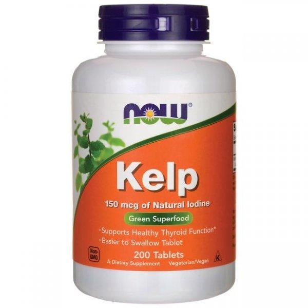 NOW Kelp (Йод) 200 таблеткиNOW2680