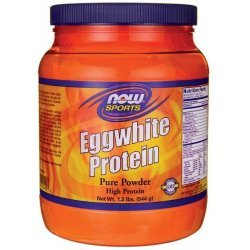 NOW Egg Protein 544 гр