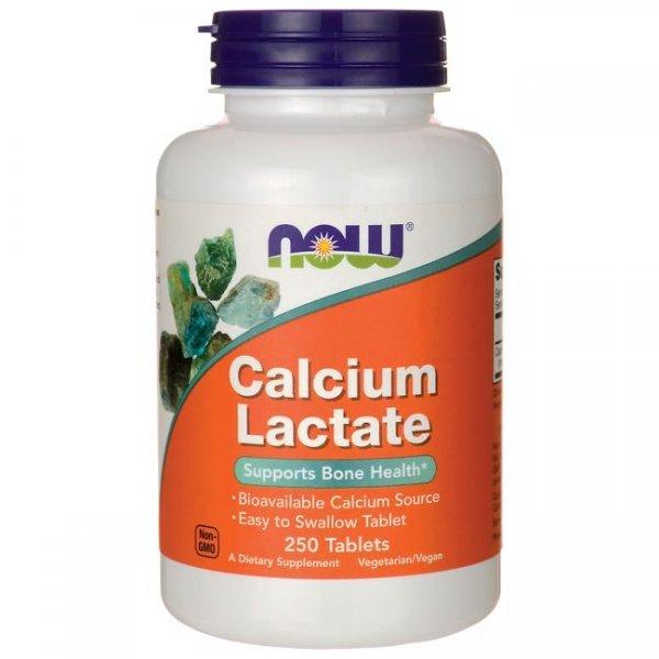 NOW Calcium Lactate 10 GR 250 таблеткиNOW Calcium Lactate 10 GR 250 таблетки