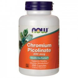 NOW Chromium Picolinate 250 капсули
