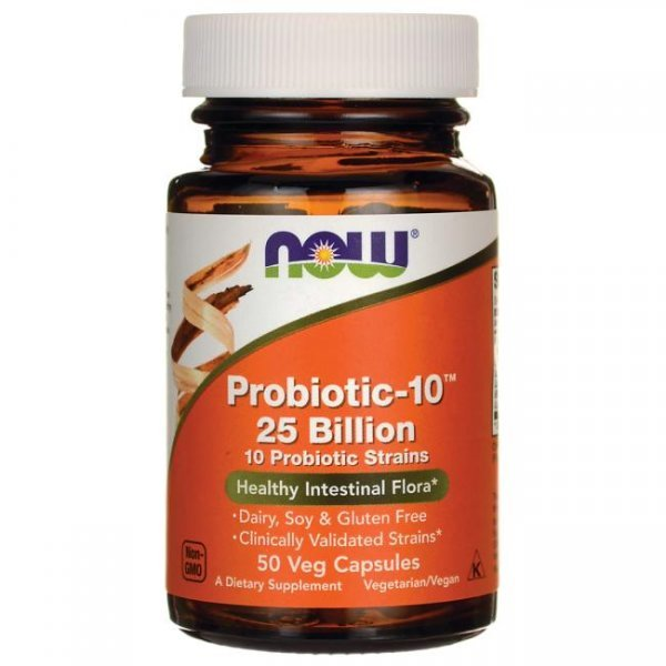NOW Probiotic-10 25 Billion 50 капсулиNOW2926
