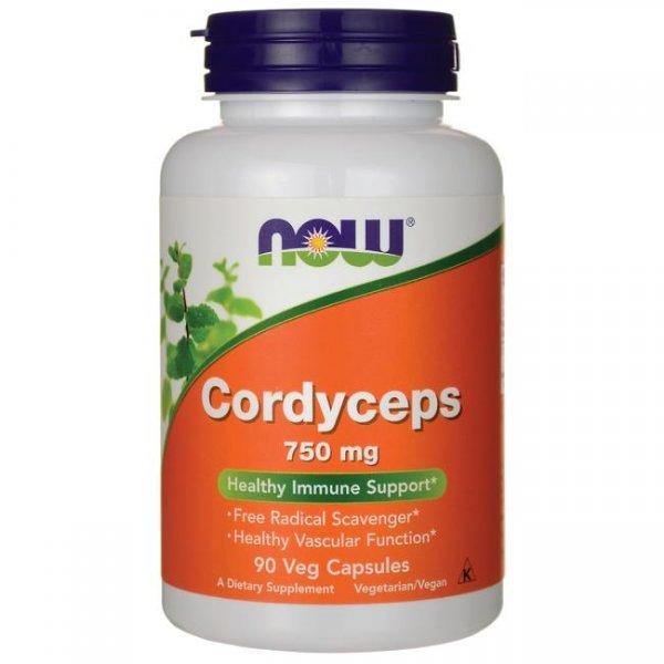 NOW Cordyceps 90 капсулиNOW3005