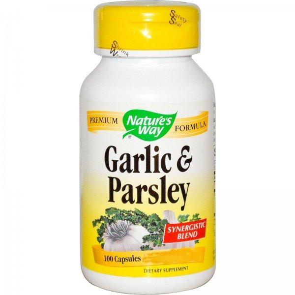Nature's Way Garlic & Parsley 440 мг 100 капсули130