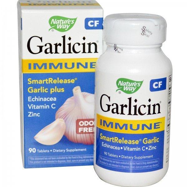 Nature's Way Garlicin Immune Support 403 мг 90 капсули6795