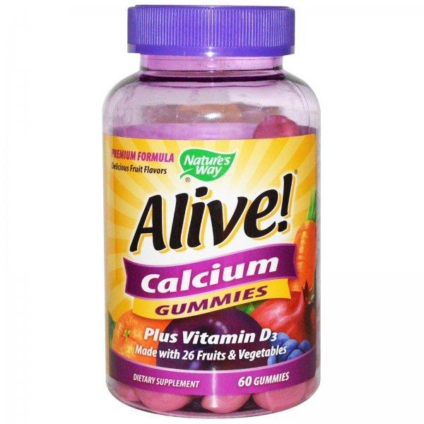 Nature's Way Alive Calcium 250 мг 60 таблетки10255