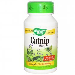 Nature`s Way Catnip 380 мг 100 капсули
