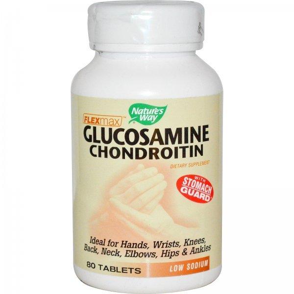 Nature's Way Glucosamine Chondroitin 820 мг 80 таблетки14191