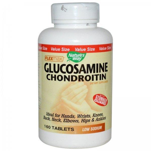 Nature's Way Glucosamine Chondroitin 820 мг 160 таблетки14535