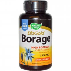Nature's Way Borage Oil 1300 мг 60 капсули
