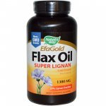 Nature's Way Flax Oil Super Lignan 1300 мг 100 капсули154221
