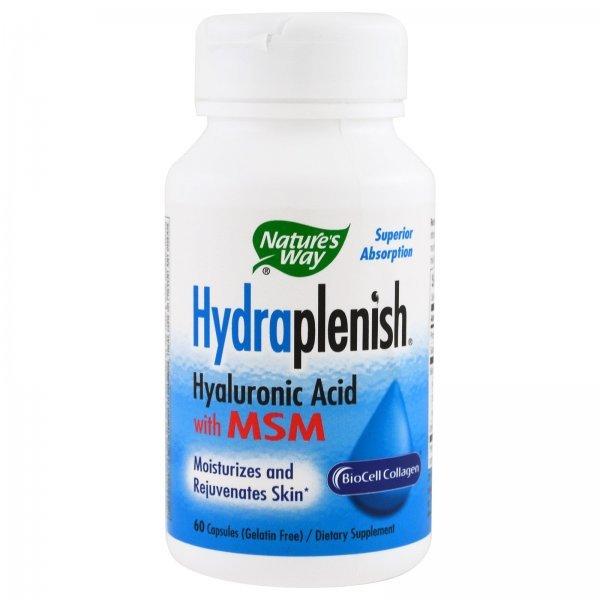 Nature's Way HydraPlenish MSM 750 мг 60 капсули15603