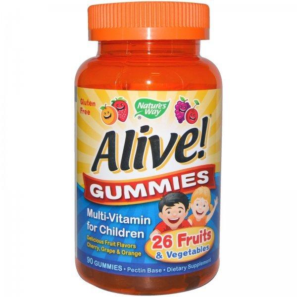 Nature's Way Alive Gummies 90 таблетки15789