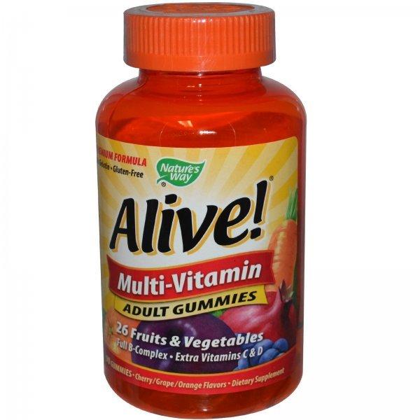 Nature's Way Alive Adult Gummies 90 таблетки15817