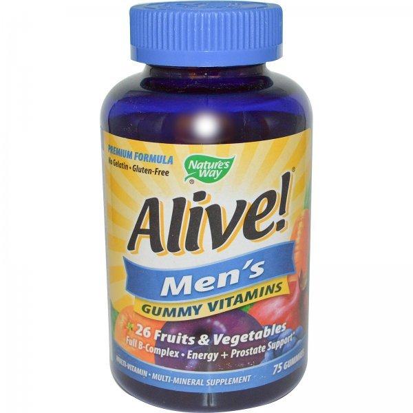 Nature's Way Alive Men's Multivitamin 75 таблетки15895
