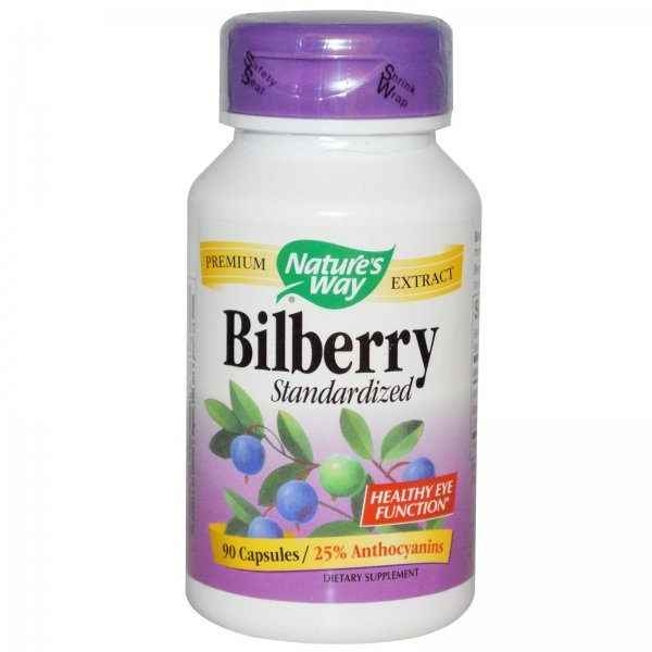 Nature's Way Bilberry 200 мг 90 капсули60510