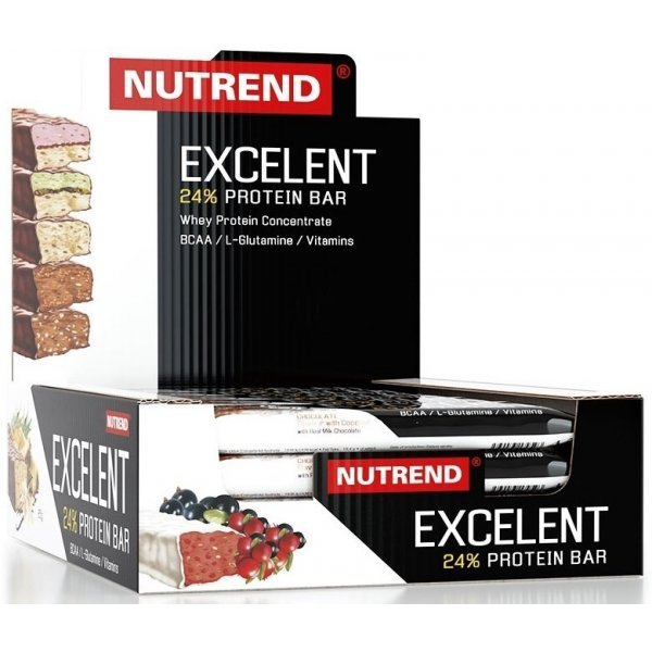 Nutrend EXCELENT PROTEIN BAR 18 х 85 грNutrend EXCELENT PROTEIN BAR 18 х 85 гр