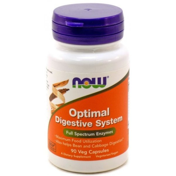 NOW Optimal Digestive System 90 капсулиNOW2958