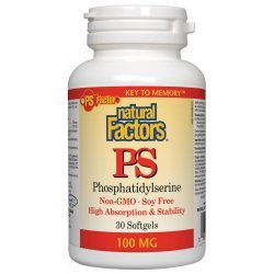Natural Factors PS Phosphatidylserine 100 мг 30 дражета