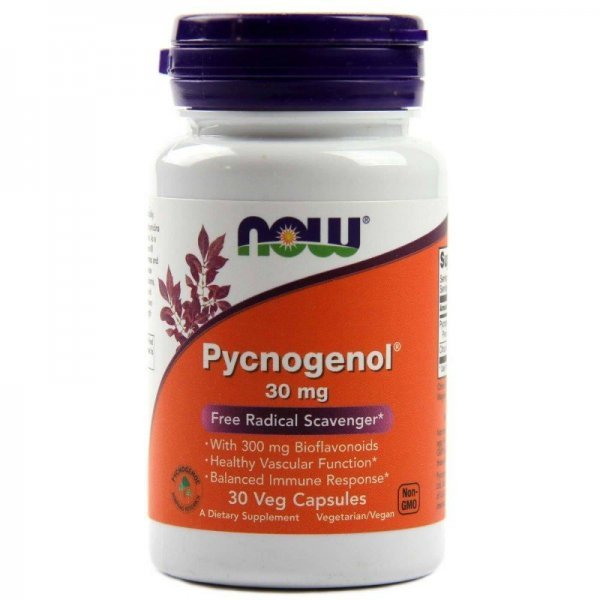 NOW Pycnogenol 30 мг 30 капсулиNOW3260