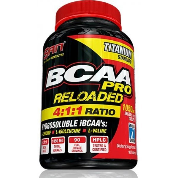 SAN BCAA Reloaded 4:1:1 90 таблеткиSAN BCAA Reloaded 4:1:1 90 таблетки