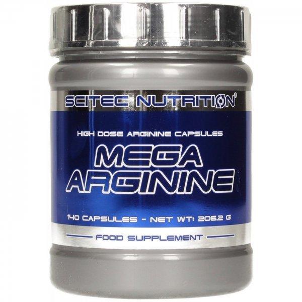 Scitec Mega Arginine 140 капсулиMega Arginine
