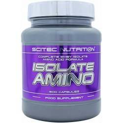 Scitec Isolate Amino 500 капсули