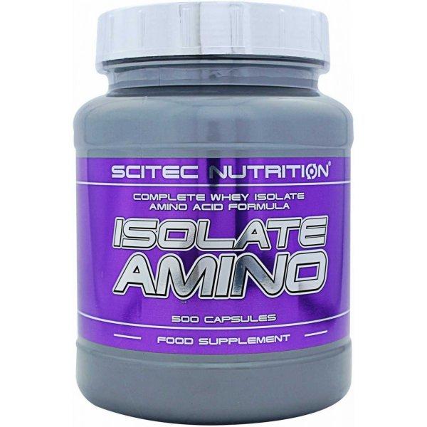 Scitec Isolate Amino 500 капсулиIsolate Amino 500 капсули