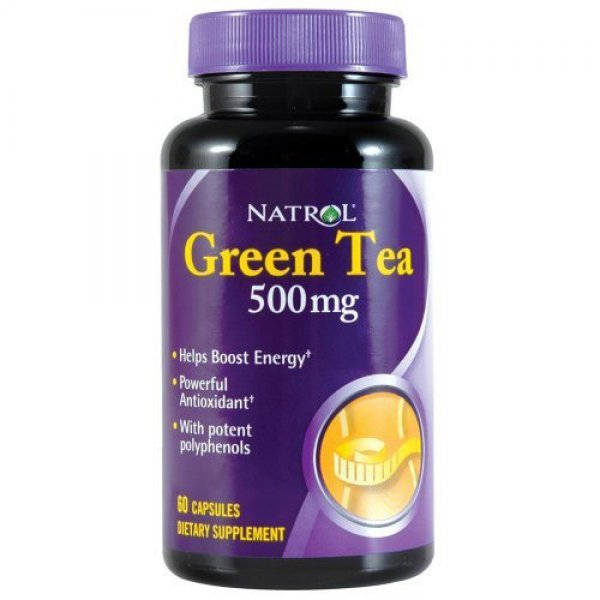 Natrol Green Tea Extract 500 мг 60 капсулиNAT398
