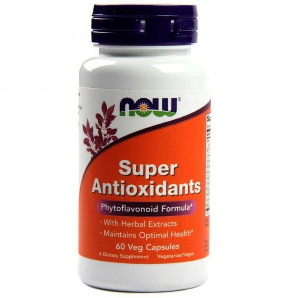 NOW Super Antioxidants 60 капсулиNOW3320