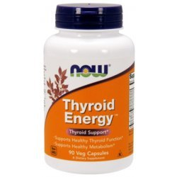 NOW Thyroid Energy 90 капсули